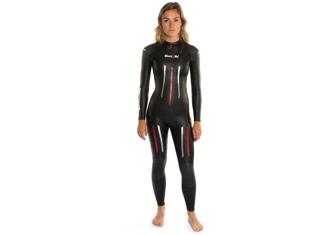 Dare2Tri MACH3S.7 Pianka pływacka Kobiety, black
